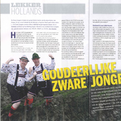 Zware Jongens in de weekblad Panorama